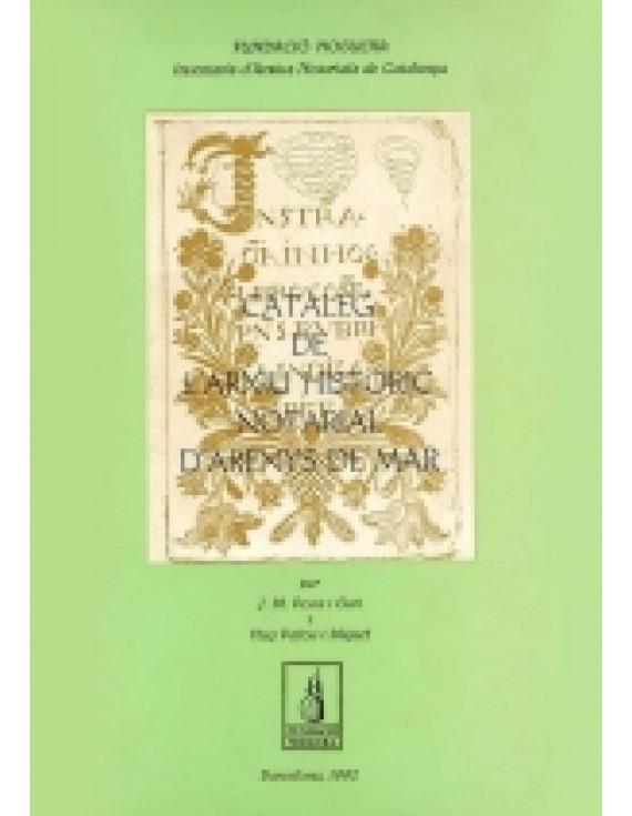 Catàleg de l'Arxiu Històric Notarial d'Arenys de Mar