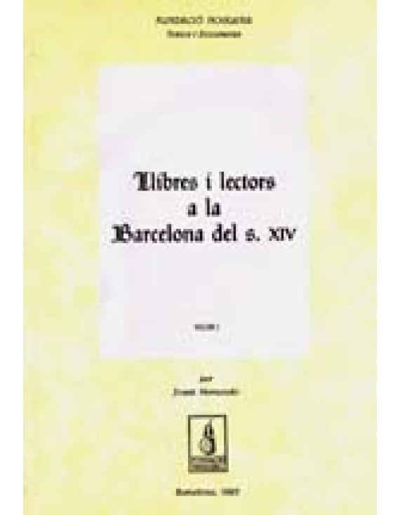 Llibres i lectors a la Barcelona del segle XIV