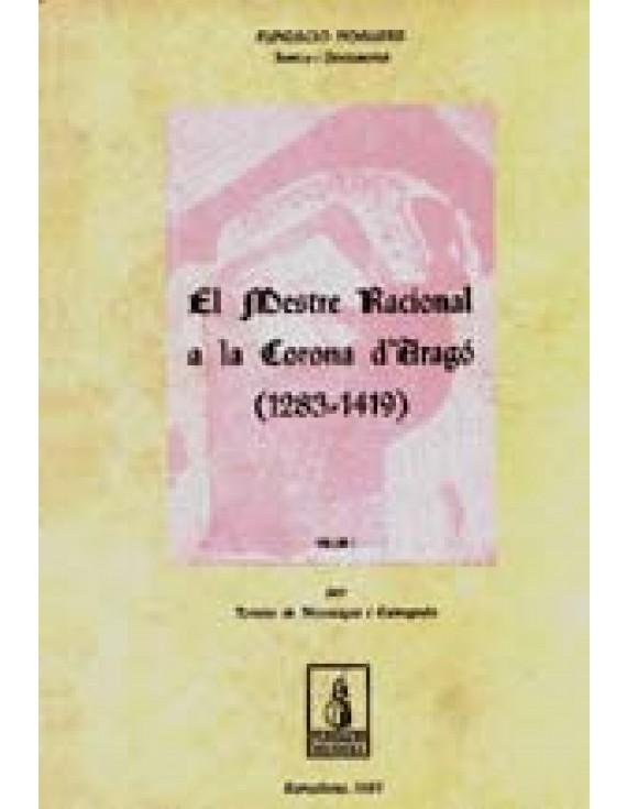 El mestre racional a la Corona d'Aragó (1283-1419)