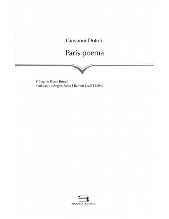 París poema