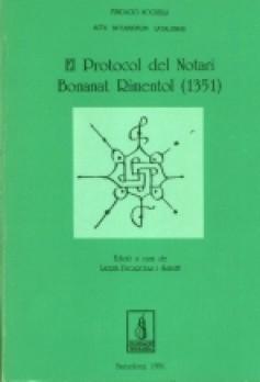 El protocol del notari Bonanat Rimentol de 1351