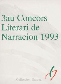 3au Concors Literari de Narracion 1993
