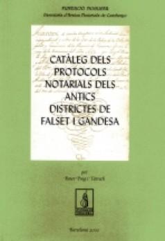 Catàleg Notarial de Falset i Gandesa