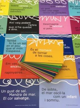 """Postals de """"Poemes de la Suda. Antologia, 2007-2017"""""""
