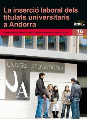 La inserció laboral dels titulats universitaris a Andorra