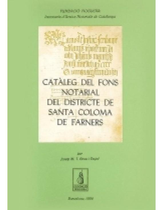 Catàleg del fons notarial de Santa Coloma de Farners
