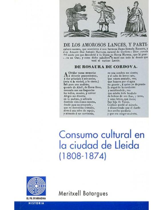 Consumo cultural en la ciudad de Lleida (1808-1874)