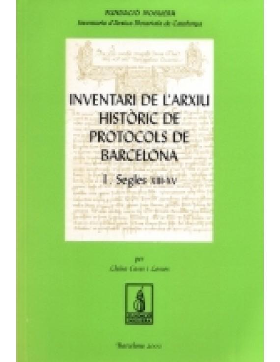 Inventari de l'arxiu històric de protocols de Barcelona