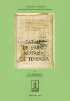 Catàleg de l'Arxiu Notarial de Terrassa