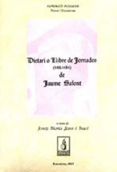 Dietari o Llibre de Jornades (1411-1484) de Jaume Safont