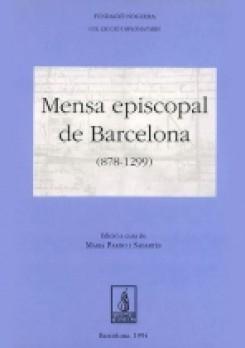 Mensa episcopal de Barcelona (878-1299)