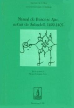 Manual de Francesc Ajac, notari de Sabadell, 1400-1402
