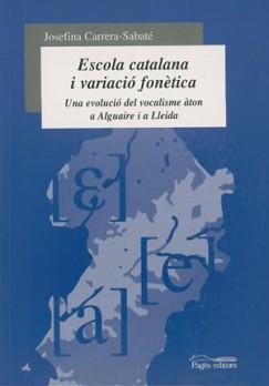 Escola catalana i variació fonètica