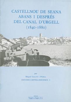 Castellnou de Seana abans i després del Canal d'Urgell (1840-1880)