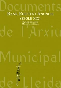 Bans, Edictes i Anuncis (Segle XIX)