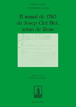 El manual de 1780 de Josep Clot Blet