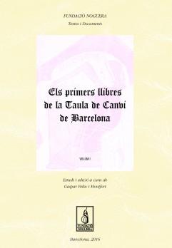 Els primers llibres de la Tuala de Canvi de Barcelona
