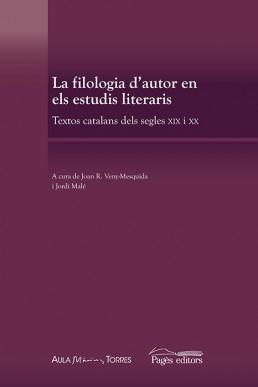 La filologia d'autor en els estudis literaris