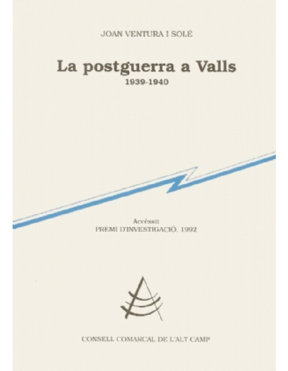 La postguerra a Valls (1939-1940)