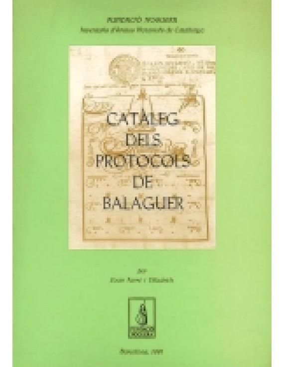 Catàleg dels protocols de Balaguer