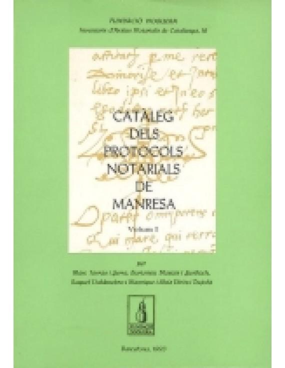 Catàleg dels Protocols Notarials de Manresa