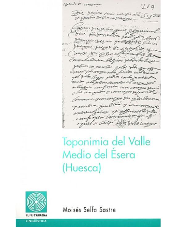 Toponimia del Valle Medio del Ésera (Huesca)