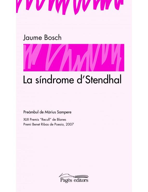 La síndrome d'Stendhal