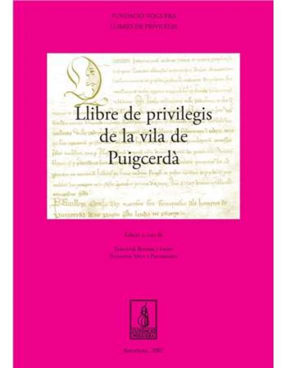Llibre de Privilegis de la Vila de Puigcerdà