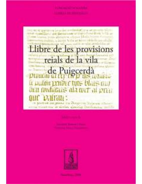 Llibre de provisions reials de la Vila de Puigcerdà