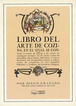 Libro del arte de cozina, año 1614