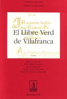 El Llibre Verd de Vilafranca