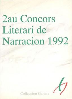 2au Concors Literari de Narracion 1992