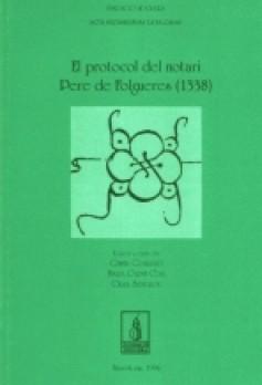 El protocol del notari Pere de Folgueres (1338)