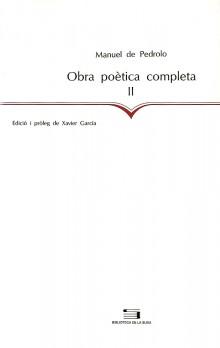 Obra poètica completa, II