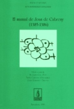 El manual de Joan de Cabreny (1385-1386)