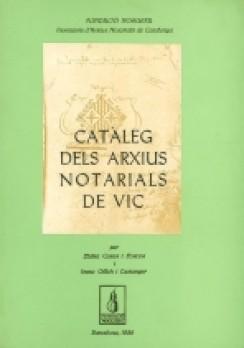 Catàleg dels arxius notarials de Vic