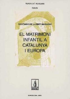 El matrimoni infantil a Catalunya i Europa
