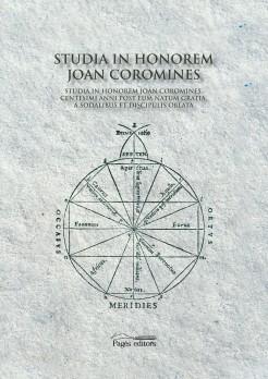 Studia in honorem Joan Coromines