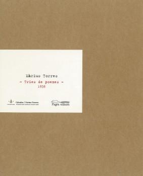 Màrius Torres. Tries de poemes, 1938