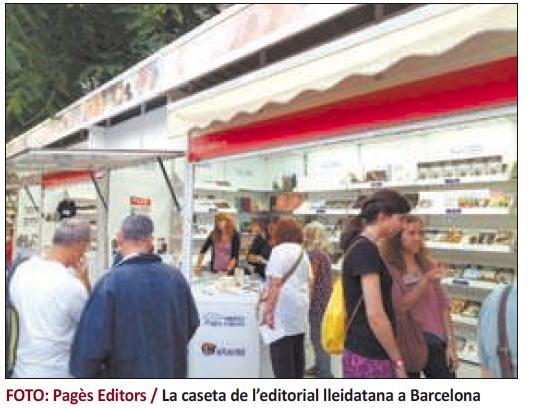 Presentacions de Pagès Editors a la Setmana del llibre en Català