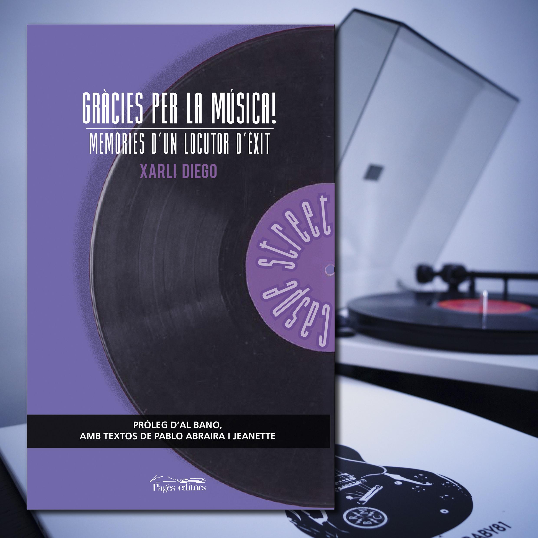 Xarli Diego publica la seva nova obra 'Gràcies per la música! Memòries d'un locutor d'èxit
