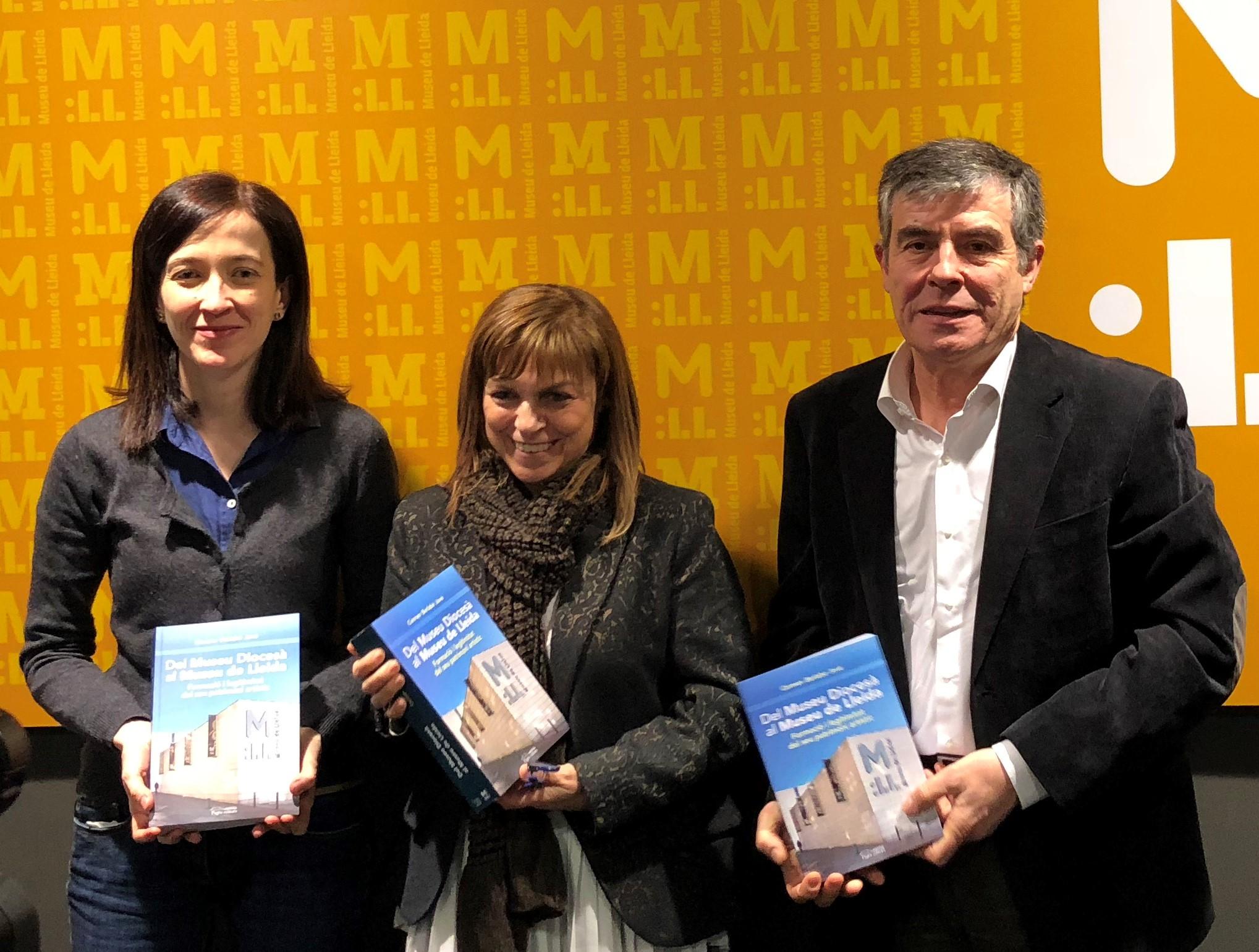 El Museu de Lleida i Pagès Editors han presentat el llibre 'Del Museu Diocesà al Museu de Lleida', de Carmen Berlabé.