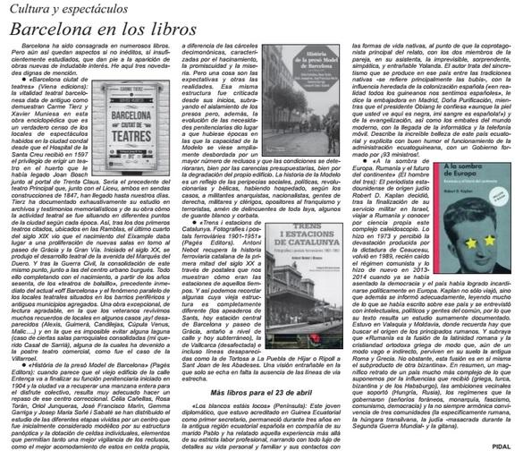 Història de la presó Model de Barcelona i Trens i estacions de Catalunya