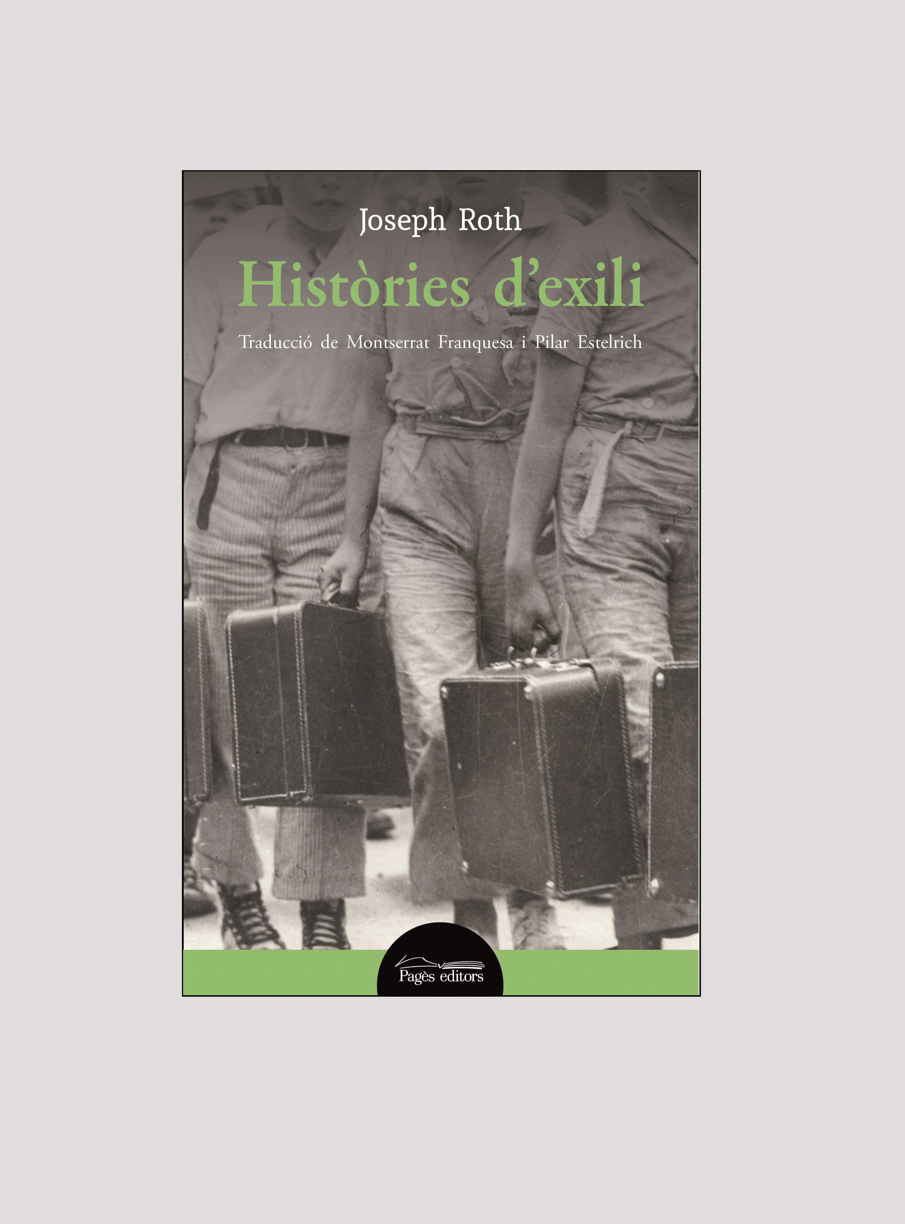 Pagès Editors presenta 'Històries d'exili', de Joseph Roth