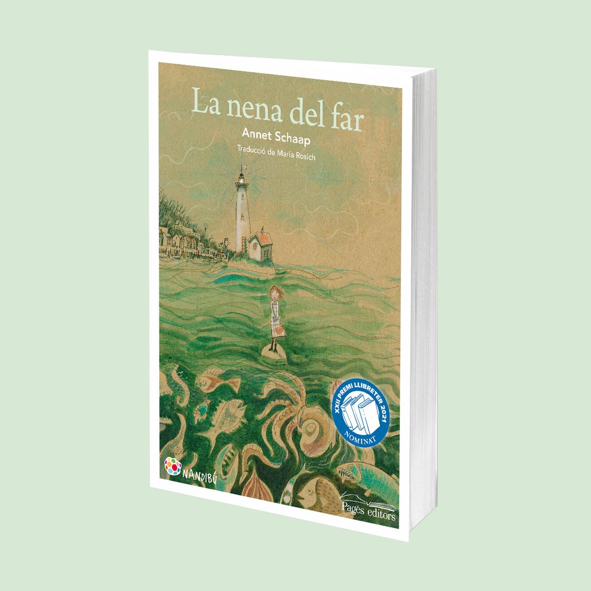 El llibre 'La nena del far', candidat al Premi Llibreter 2021!