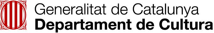 Logo Departament Cultura Generalitat de Catalunya